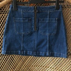 Madewell Denim Mini Skirt M